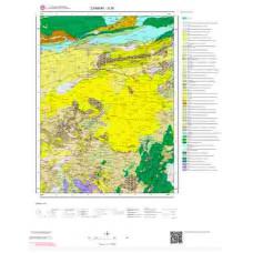 G30 Paftası 1/100.000 Ölçekli Vektör Jeoloji Haritası