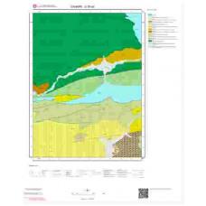 G30a2 Paftası 1/25.000 Ölçekli Vektör Jeoloji Haritası