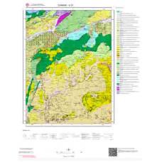 G31 Paftası 1/100.000 Ölçekli Vektör Jeoloji Haritası