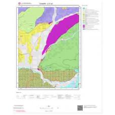 G31a2 Paftası 1/25.000 Ölçekli Vektör Jeoloji Haritası