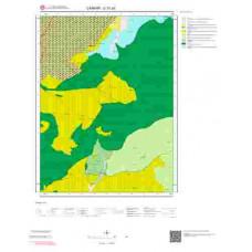 G31a3 Paftası 1/25.000 Ölçekli Vektör Jeoloji Haritası