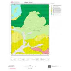 G31b3 Paftası 1/25.000 Ölçekli Vektör Jeoloji Haritası