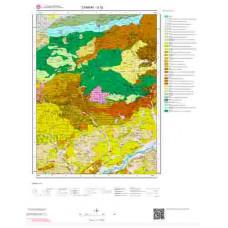 G32 Paftası 1/100.000 Ölçekli Vektör Jeoloji Haritası