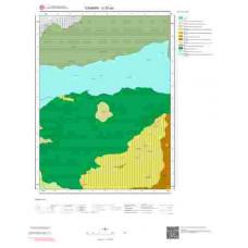 G32a2 Paftası 1/25.000 Ölçekli Vektör Jeoloji Haritası