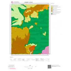 G 32-a3 Paftası 1/25.000 ölçekli Jeoloji Haritası