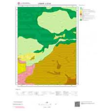 G 32-a4 Paftası 1/25.000 ölçekli Jeoloji Haritası