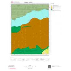 G 32-b1 Paftası 1/25.000 ölçekli Jeoloji Haritası
