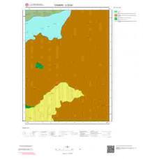 G 32-b2 Paftası 1/25.000 ölçekli Jeoloji Haritası