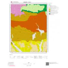 G 32-c1 Paftası 1/25.000 ölçekli Jeoloji Haritası