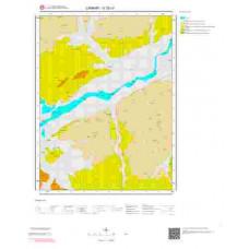 G 32-c3 Paftası 1/25.000 ölçekli Jeoloji Haritası