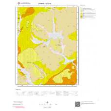 G 32-d3 Paftası 1/25.000 ölçekli Jeoloji Haritası