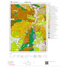 G33 Paftası 1/100.000 Ölçekli Vektör Jeoloji Haritası
