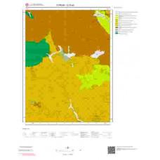 G33a3 Paftası 1/25.000 Ölçekli Vektör Jeoloji Haritası