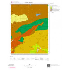 G 33-a4 Paftası 1/25.000 ölçekli Jeoloji Haritası