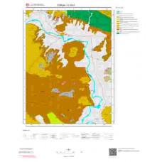 G 33-b1 Paftası 1/25.000 ölçekli Jeoloji Haritası