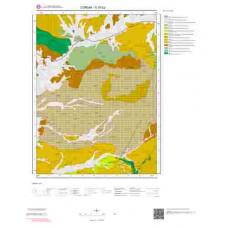 G 33-b2 Paftası 1/25.000 ölçekli Jeoloji Haritası