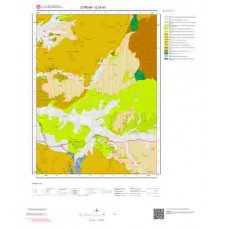 G 33-b3 Paftası 1/25.000 ölçekli Jeoloji Haritası
