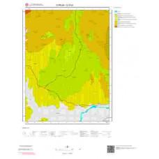 G 33-d1 Paftası 1/25.000 ölçekli Jeoloji Haritası