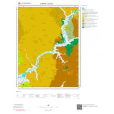 G 33-d2 Paftası 1/25.000 ölçekli Jeoloji Haritası