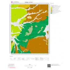 G 33-d3 Paftası 1/25.000 ölçekli Jeoloji Haritası
