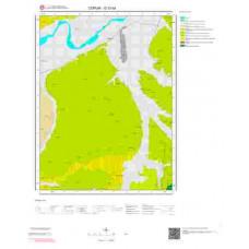 G 33-d4 Paftası 1/25.000 ölçekli Jeoloji Haritası
