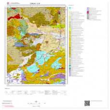 G34 Paftası 1/100.000 Ölçekli Vektör Jeoloji Haritası