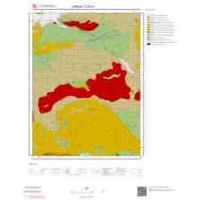 G34a1 Paftası 1/25.000 Ölçekli Vektör Jeoloji Haritası