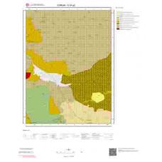 G34a2 Paftası 1/25.000 Ölçekli Vektör Jeoloji Haritası