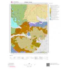 G34a3 Paftası 1/25.000 Ölçekli Vektör Jeoloji Haritası