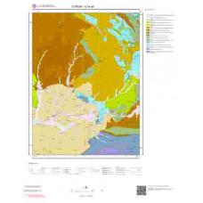G34a4 Paftası 1/25.000 Ölçekli Vektör Jeoloji Haritası