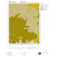 G34b1 Paftası 1/25.000 Ölçekli Vektör Jeoloji Haritası