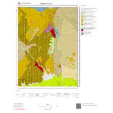 G34b2 Paftası 1/25.000 Ölçekli Vektör Jeoloji Haritası