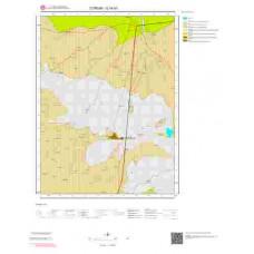 G34b3 Paftası 1/25.000 Ölçekli Vektör Jeoloji Haritası