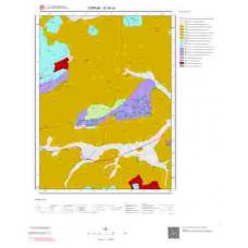 G34c4 Paftası 1/25.000 Ölçekli Vektör Jeoloji Haritası