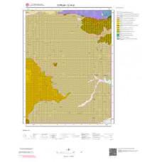 G34d1 Paftası 1/25.000 Ölçekli Vektör Jeoloji Haritası
