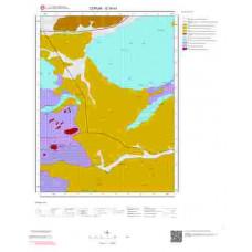 G34d3 Paftası 1/25.000 Ölçekli Vektör Jeoloji Haritası