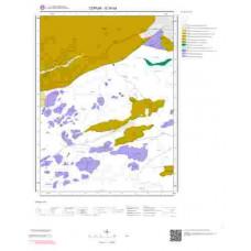 G34d4 Paftası 1/25.000 Ölçekli Vektör Jeoloji Haritası