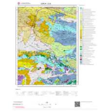 G35 Paftası 1/100.000 Ölçekli Vektör Jeoloji Haritası