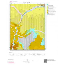 G35a2 Paftası 1/25.000 Ölçekli Vektör Jeoloji Haritası