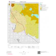 G35a3 Paftası 1/25.000 Ölçekli Vektör Jeoloji Haritası