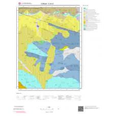 G35b1 Paftası 1/25.000 Ölçekli Vektör Jeoloji Haritası