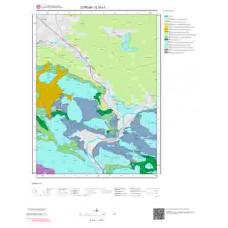 G35c1 Paftası 1/25.000 Ölçekli Vektör Jeoloji Haritası