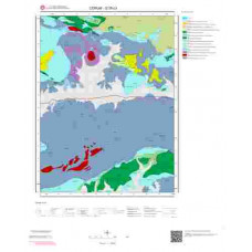 G35c3 Paftası 1/25.000 Ölçekli Vektör Jeoloji Haritası