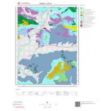 G35c4 Paftası 1/25.000 Ölçekli Vektör Jeoloji Haritası