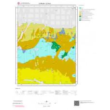 G35d1 Paftası 1/25.000 Ölçekli Vektör Jeoloji Haritası