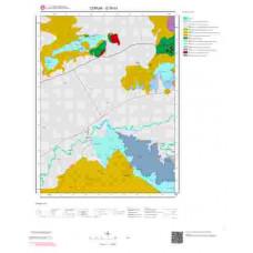 G35d3 Paftası 1/25.000 Ölçekli Vektör Jeoloji Haritası