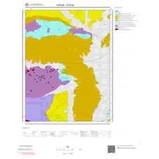 G35d4 Paftası 1/25.000 Ölçekli Vektör Jeoloji Haritası