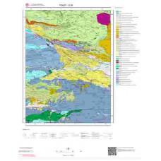 G 36 Paftası 1/100.000 ölçekli Jeoloji Haritası