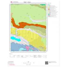 G36a1 Paftası 1/25.000 Ölçekli Vektör Jeoloji Haritası