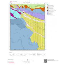 G36a3 Paftası 1/25.000 Ölçekli Vektör Jeoloji Haritası